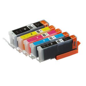 SecondLife Inkjets Multipack Canon 550 Black & 551 Serie 23+12*4