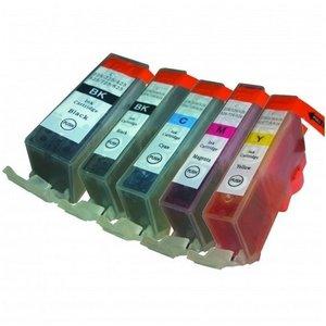SecondLife Inkjets Multipack Canon 525 Black & 526 Serie 21+10,5*4