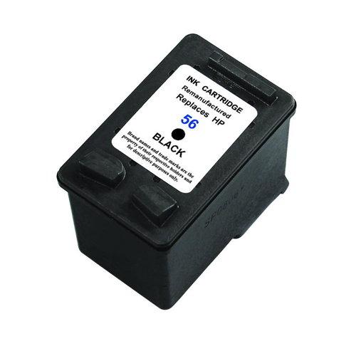 SecondLife Inkjets HP 56 XL Black 25