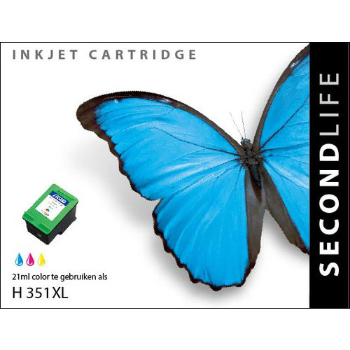 SecondLife Inkjets HP 351 XL Color 21