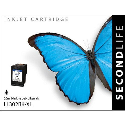 SecondLife Inkjets HP 302 XL Black 20