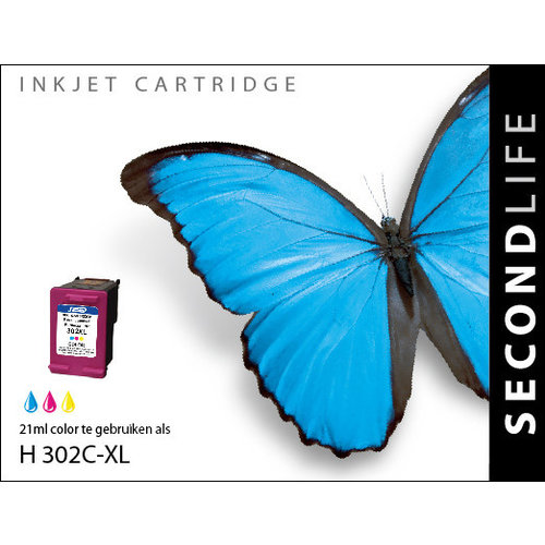 SecondLife Inkjets HP 302 XL Color 21