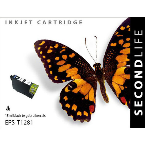 SecondLife Inkjets Epson 1281 Black 15