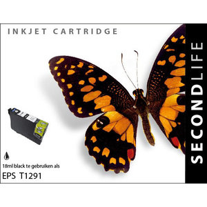 SecondLife Inkjets Epson 1291 Black 18