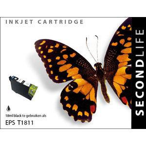SecondLife Inkjets Epson 18 XL Black (T 1811) 18