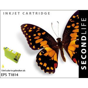 SecondLife Inkjets Epson 18 XL Yellow (T 1814) 15