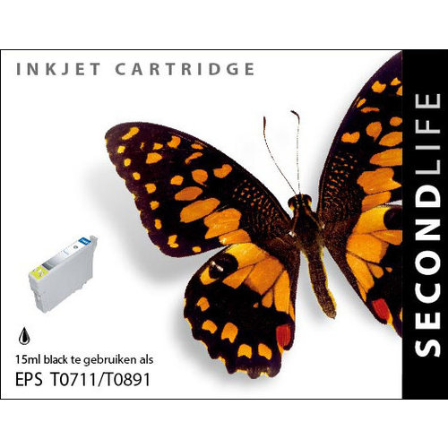 SecondLife Inkjets Epson T 711 Black 15