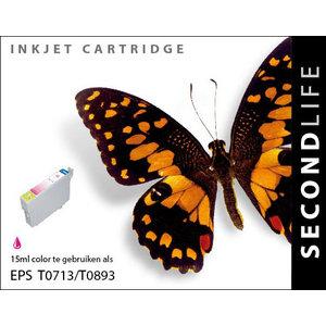 SecondLife Inkjets Epson T 713 Magenta