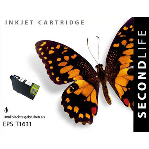 SecondLife Inkjets Epson 16 XL Black (T 1631) 18