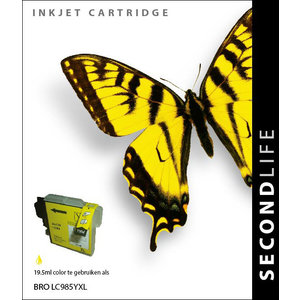 SecondLife Inkjets Brother 985 Yellow 19.5