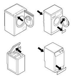 wasmachine typenummer