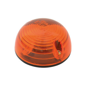 Carpoint Paddestoellampjes oranje 2st 12V eu55mm