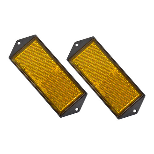 Carpoint Reflector Oranje 104x40mm 2 stuks