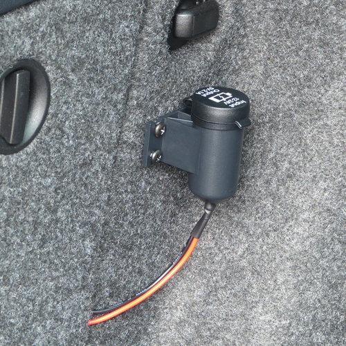 Carpoint Opbouwcontactdoos 2x USB 2,1A 12/24V
