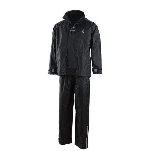 Willex Regenpak Zwart L