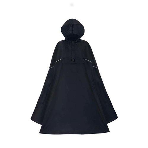 Willex Lichtgewicht Poncho Zwart L/XL