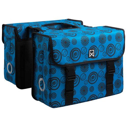 Willex Vortex Dubbele Tas Blauw/Zwart 36 liter