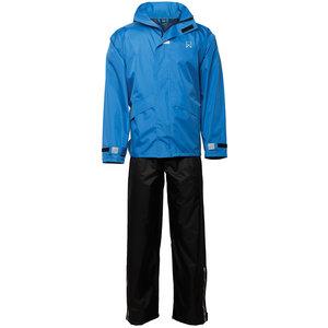 Willex Regenpak Blauw/Zwart S