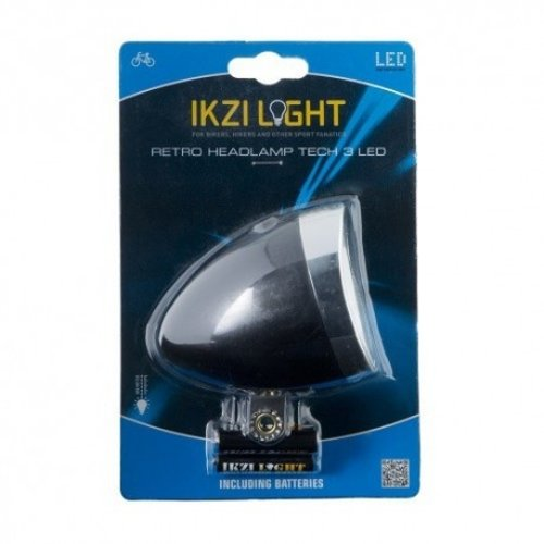 Ikzi Light IKZI retro koplamp zwart