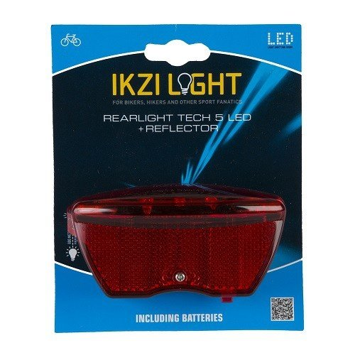 Ikzi Light IKZI reflector achterlicht 5 led