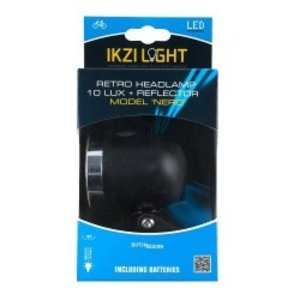 Ikzi Light IKZI koplamp Nero zwart