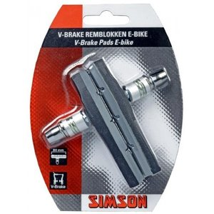 Simson SIMSON V-brake remschoenen 80mm E-bike 2st