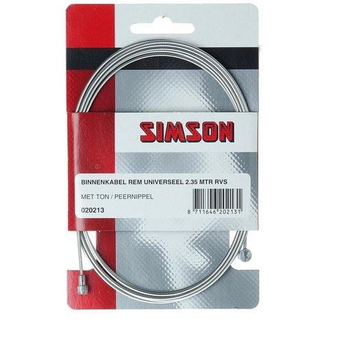 Simson SIMSON Binnenkabel rem universeel 2.35 mtr.