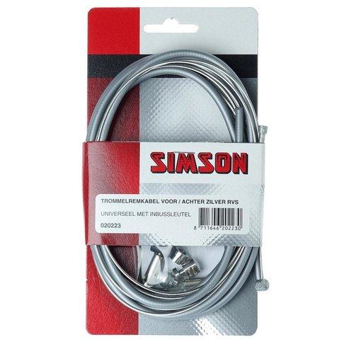 Simson SIMSON Trommelremkabelset voor/achter
