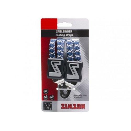 Simson SIMSON Snelbinder, 3 binder, marine-wit