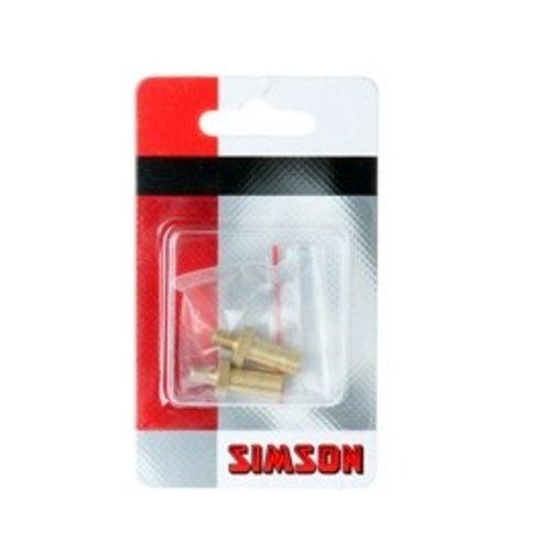 Simson SIMSON Oppompverloopnippel Frans