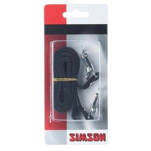 Simson SIMSON Toeclips riemen 2 stuks