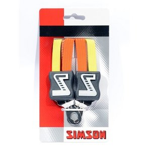 Simson SIMSON snelbinder oranje-geel 49cm, extra kort