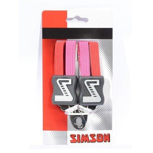 Simson SIMSON snelbinder roze-rood 49cm, extra kort
