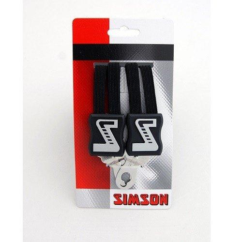 Simson SIMSON snelbinder zwart 49cm, extra kort