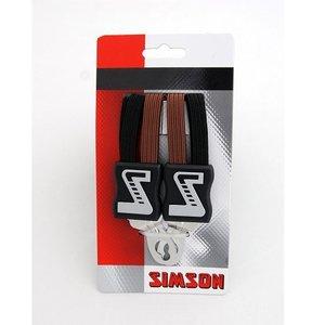 Simson SIMSON snelbinder zwart-bruin, extra strong