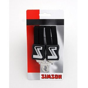Simson SIMSON snelbinder zwart uni, extra lang