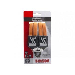 Simson SIMSON Snelbinder, 3 binder, oranje