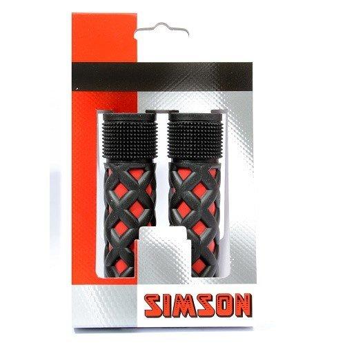 Simson SIMSON handvatten kinder rood-zwart