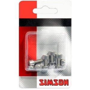 Simson SIMSON Inbusbout M5 x 12 + borgmoer RVS