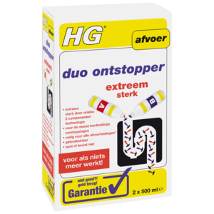 HG HG duo ontstopper