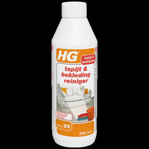HG HG tapijt & bekleding reiniger (HG product 95) 500 ml