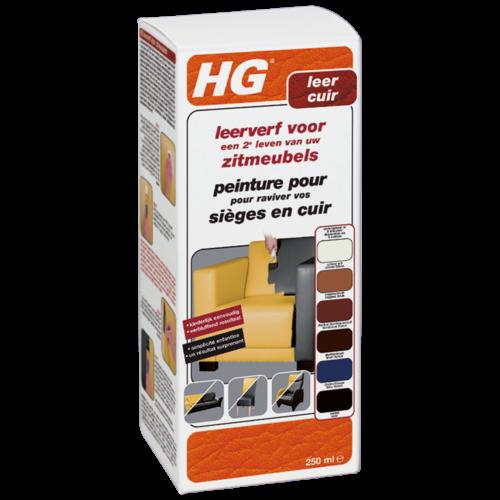 HG HG leerverf voor zitmeubels crème wit