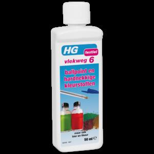 HG HG vlekweg 6 voor o.a. vlekken van ballpoint & hardnekkige kleurstoffen