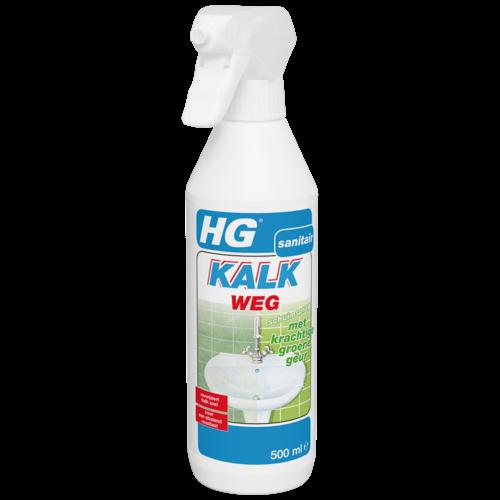 HG HG kalkweg schuimspray met krachtige groene geur