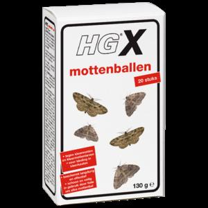HG HGX mottenballen