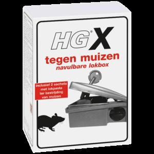 HG HGX tegen muizen navulbare lokbox