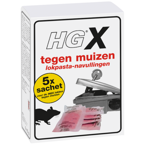 HG HGX tegen muizen lokpasta-navullingen