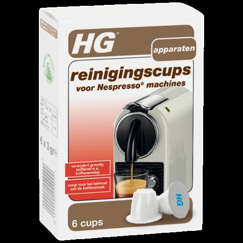 HG HG reinigingscups voor Nespresso® machines