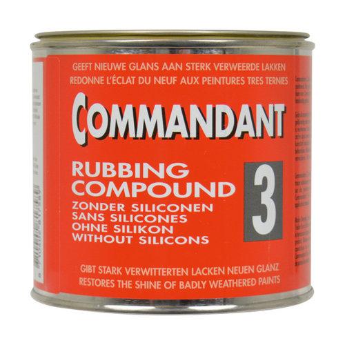 Commandant Commandant Rubbing Compound 3