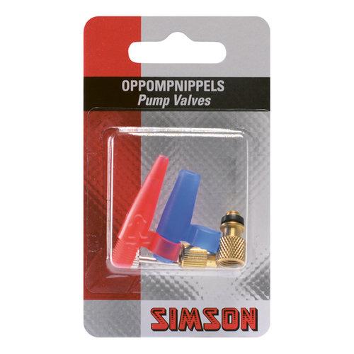 Simson SIMSON Oppompnippels tbv luchtbedden